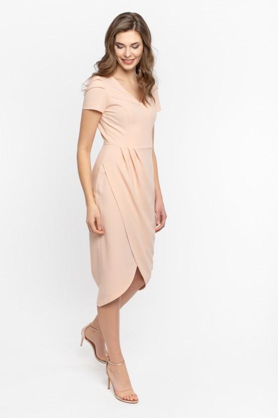 Asymetryczna Sukienka ANDRIA