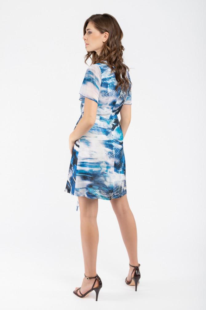 Kolorowa Sukienka GANZA